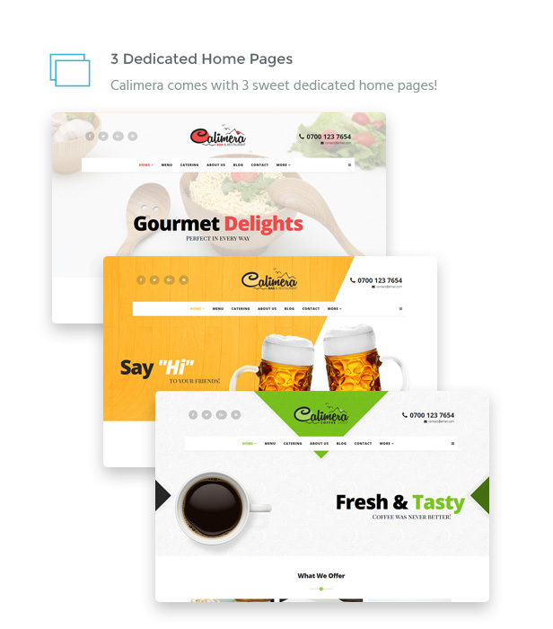 IT Calimera - Restaurant, Bar, Coffee Shop & Food HTML Template