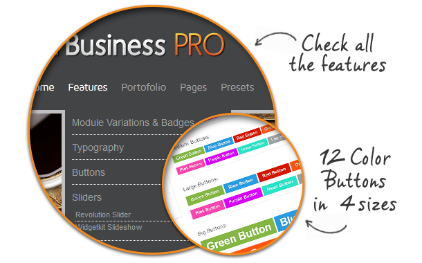 features - Business Pro - Clean Responsive Joomla Template