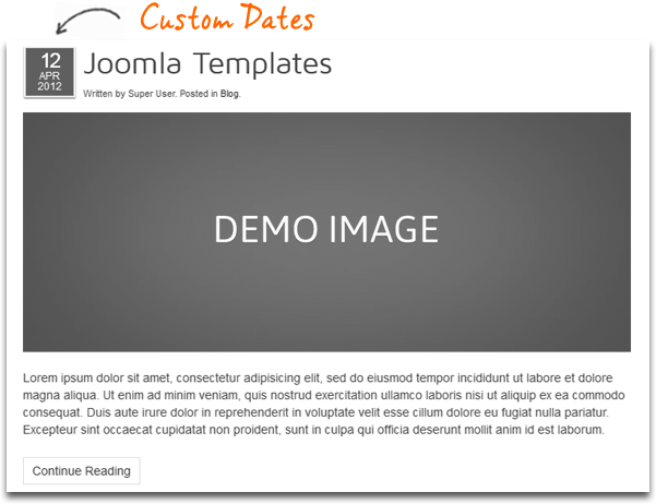 date - MyBrand - Responsive, Multipurpose Joomla Template