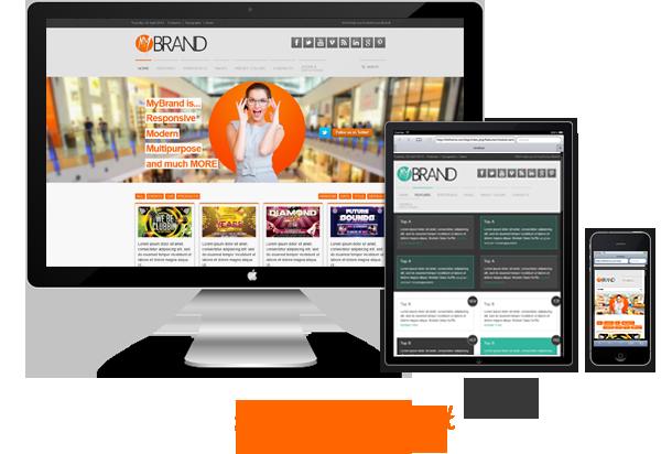 responsive - MyBrand - Responsive, Multipurpose Joomla Template