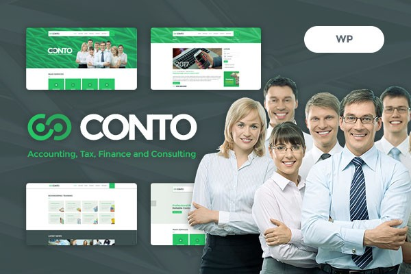 Conto - Accounting, Tax, Finance and Consulting WordPress Theme