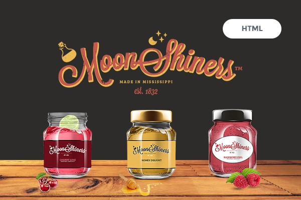 Moonshiners - Creative HTML Template for Distillery, Microbrewery & Brewpub